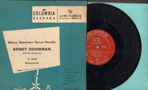 Goodman, Benny & His Orchestra - Benny Goodman Dance Parade: Why Don't You Do Right/Jersey Bounce/A String Of Pearls + 3 (10 inch 78 rpm record with picture cover) - EX8/VG7 - LP Records