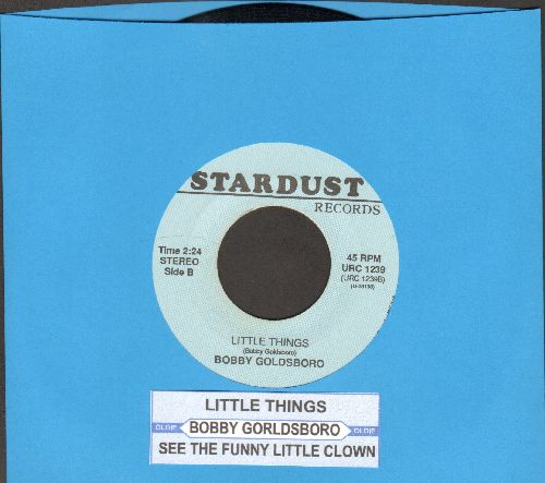 Goldsboro, Bobby - Little Things/See The Funny Little Clown (double-hit re-issue with juke box label) - NM9/ - 45 rpm Records