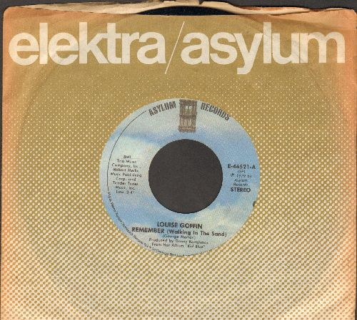 Goffin, Louise - Remember (Walking In The Sand)/Trapeze (with Elektra company sleeve) - NM9/ - 45 rpm Records