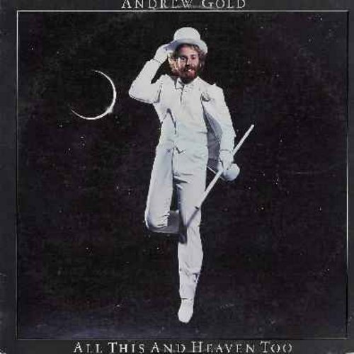 Gold, Andrew - All This And Heaven Too: Thank You For Being A Friend (Theme from TV Series -Golden Girls-), I'm On My Way, Never Let Her Slip Away, Always For You (Vinyl STEREO LP record) - NM9/EX8 - LP Records