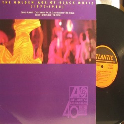 Chic, Sister Sledge, LeVert, others - Golden Age Of Black Music (1977-1988): Dance Dance Dance, We Are Family, Le Freak, Casanova, The Closer I Get To You (Vinyl STEREO LP record) - NM9/NM9 - LP Records