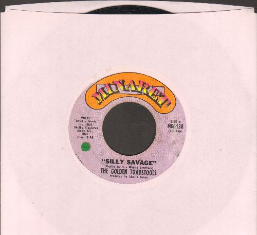 Golden Toadstools - Silly Savage/Weeping River (RARE Psychedelic Rock 2-sider) - VG7/ - 45 rpm Records