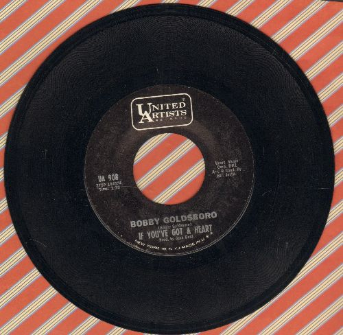 Goldsboro, Bobby - If You've Got A Heart/If You Wait For Love  - NM9/ - 45 rpm Records