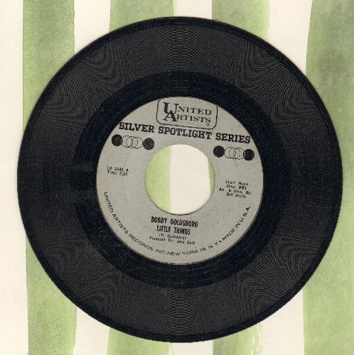 Goldsboro, Bobby - Little Things/I can't Go On Pretending (double-hit re-issue) - NM9/ - 45 rpm Records