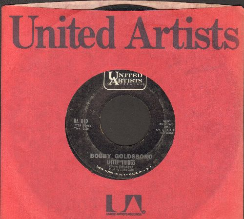 Goldsboro, Bobby - Little Things (That You Do)/I Can't Go On Pretending (with United Artists company sleeve) - EX8/ - 45 rpm Records