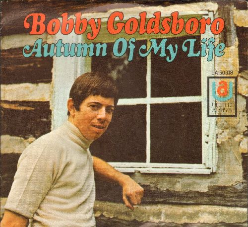 Goldsboro, Bobby - Autumn Of My Life/She Chased Me (with picture company sleeve) - NM9/NM9 - 45 rpm Records