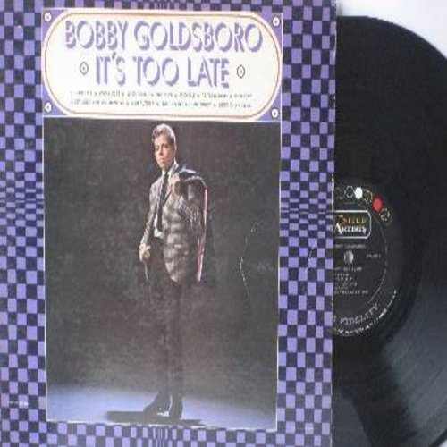 Goldsboro, Bobby - It's Too Late: Yesterday, Michelle, Don't Think Twice, As Tears Go By (Vinyl MONO LP record) - EX8/EX8 - LP Records