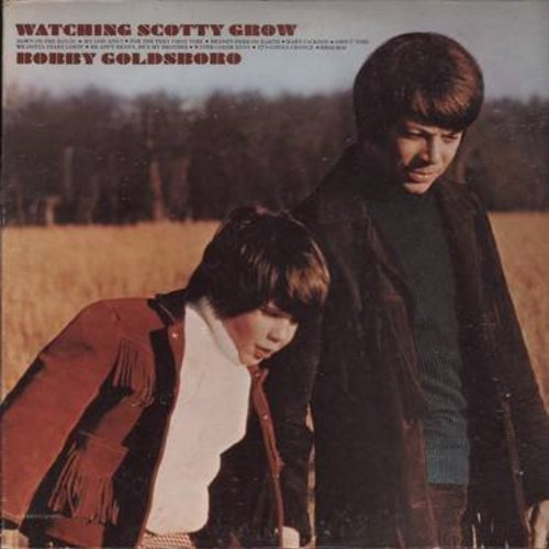 Goldsboro, Bobby - Watching Scotty Grow: He Ain't Heavy He's My Brother, Heaven Here On Earth, My God And I, Down On The Bayou (Vinyl STEREO LP record) - NM9/NM9 - LP Records