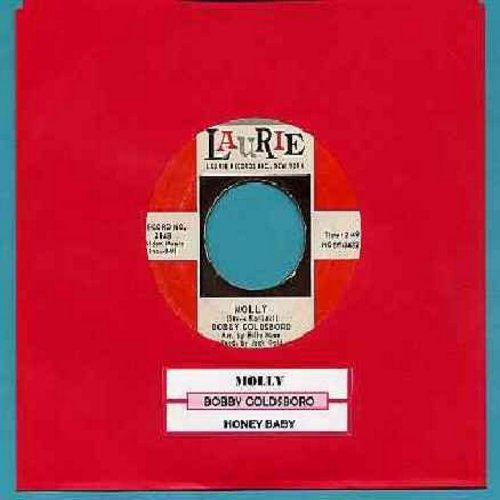 Goldsboro, Bobby - Honey Baby/Molly (with juke box label) - NM9/ - 45 rpm Records