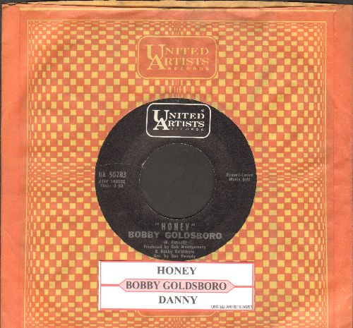 Goldsboro, Bobby - Honey (Honey, I Miss You)/Danny (with juke box label and United Artists company sleeve) - NM9/ - 45 rpm Records