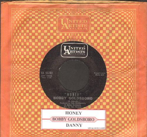 Goldsboro, Bobby - Honey (Honey, I Miss You)/Danny (with juke box label and United Artists company sleeve) - NM9/ - 45 rpm Records