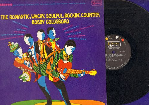 Goldsboro, Bobby - The Romantic, Wacky, Soulful, Rockin', Country: Ruby Tuesday, My Cup Runneth Over, Ruby Don't Take Your Love To Town (vinyl STEREO LP record) - NM9/NM9 - LP Records