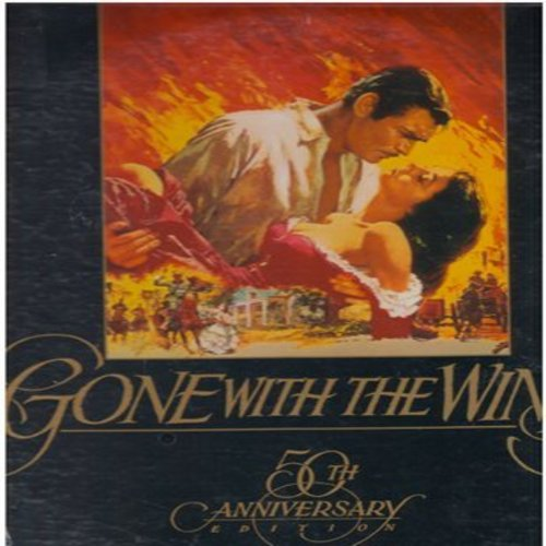 Gone With The Wind - Gone With The Wind - 50th Anniversary LASER DISC SET - 2 Discs, SEALED, never opened! GREAT Gift! - This is a set of LASER DISCS, not any other kind of media! - SEALED/SEALED - Laser Discs
