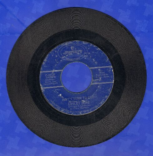 Gore, Lesley - Judy's Turn To Cry/You Don't Own Me (double-hit re-issue with juke box label) - VG7/ - 45 rpm Records