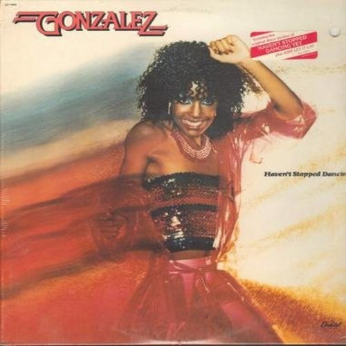 Gonzalez - Haven't Stopped Dancing' (8 minute extended version + 7 other titles!) (Vinyl STEREO LP record, SEALED, never opened!)  - SEALED/SEALED - LP Records