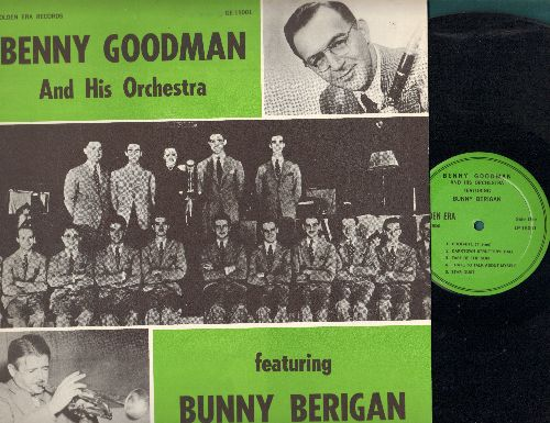 Goodman, Benny & His Orchestra - Goodman, Benny & His Orchestra featuring Bunny Berigan - 1935 (vinyl LP record, re-issue of vintage recordings featuring various vocalists) - NM9/EX8 - LP Records