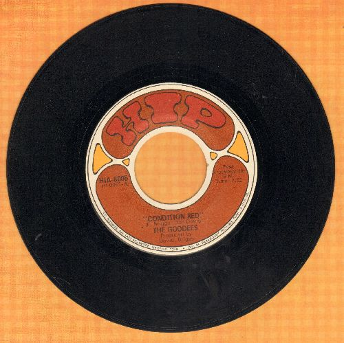 Goodees - Condition Red/Didn't Know Love Was So Good - EX8/ - 45 rpm Records