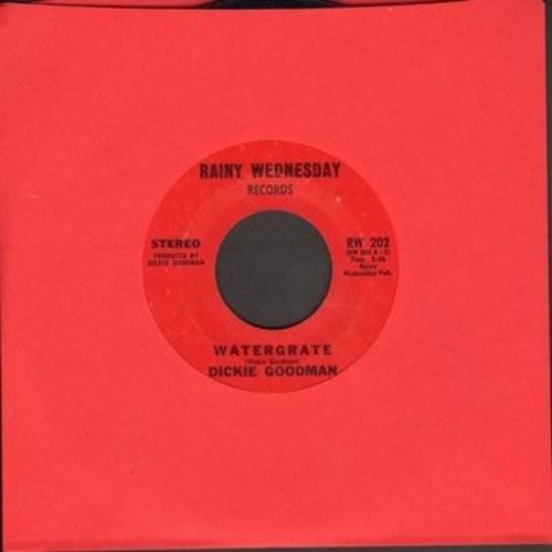 Goodman, Dickie - Watergate/Friends (minor wol) - VG7/ - 45 rpm Records