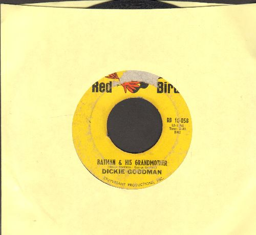 Goodman, Dickie - Batman & His Grandmother/Suspense (FANTASTIC cut-in Novelty two-sider)  - VG6/ - 45 rpm Records