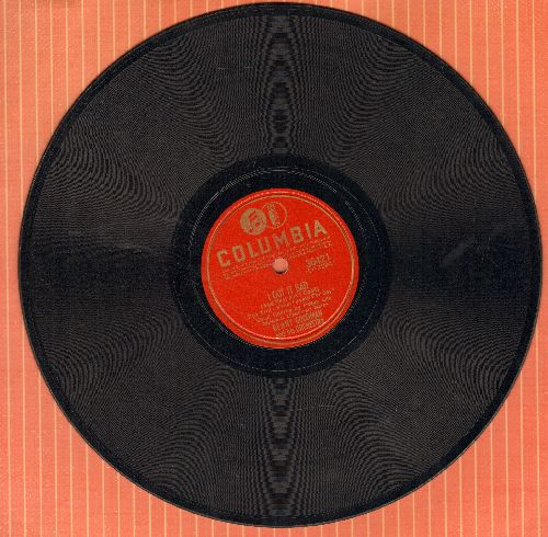 Goodman, Benny & His Orchestra - I Got It Bad (And That Ain't Good) (vocals by Peggy Lee)/Pound Ridge (RARE 1941 first issue of 10 inch 78 rpm record) - EX8/ - 78 rpm