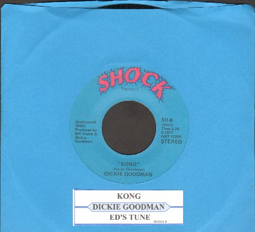 Goodman, Dickie - Kong/Ed's Tune (with juke box label) - NM9/ - 45 rpm Records