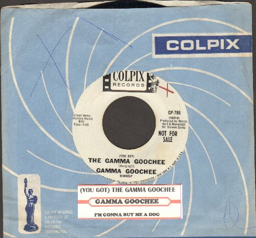 Gamma Goochee - The Gamma Goochee/I'm Gonna Buy Me A Dog (DJ advance pressing with juke box label and Colpix company sleeve) - NM9/ - 45 rpm Records
