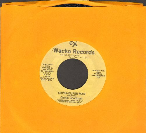 Goodman, Dickie - Super-Duper Man/Robert's Tune (cut-in-novelty) - NM9/ - 45 rpm Records