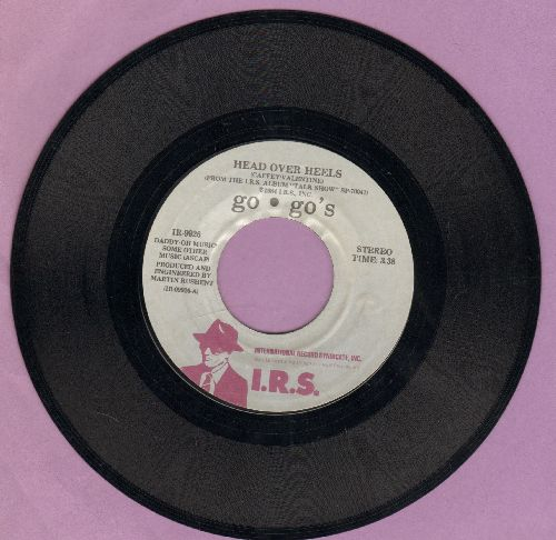 Go-Go's - Head Over Heels/Good For Gone  - EX8/ - 45 rpm Records