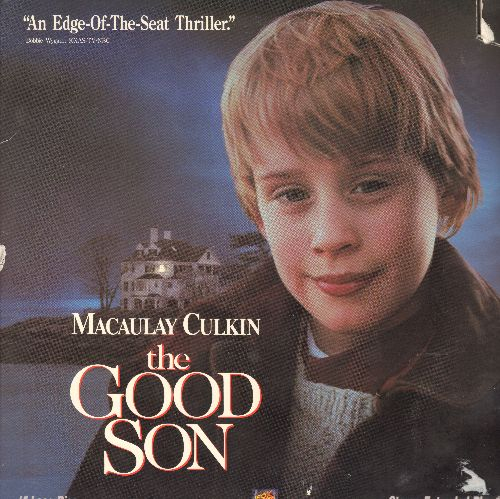 Good Son - The Good Son - LASERDISC version of the Thriller starring Macauley Culkin (This is a LASERDISC, NOT any other kind of media!) - NM9/VG7 - LaserDiscs