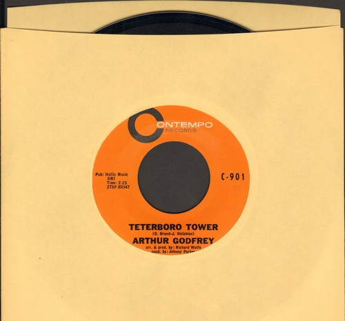 Godfrey, Arthur - Teterboro Tower/The Letter (HILARIOUS Novelty Two-Sider!) - NM9/ - 45 rpm Records