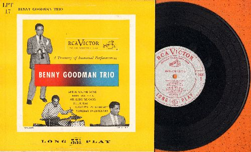 Goodman, Benny Trio - A Treasure of Immortal Performances: After You've Gone/Body And Soul/Tiger Rag/Nobody's Sweetheart + 2 (10 inch LP record with picture cover) - EX8/EX8 - LP Records