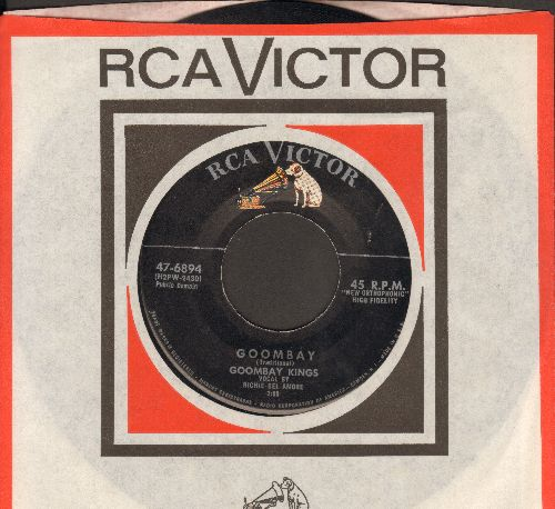 Goombay Kings - Goombay/Mommie Out The Light (with RCA company sleeve) - EX8/ - 45 rpm Records