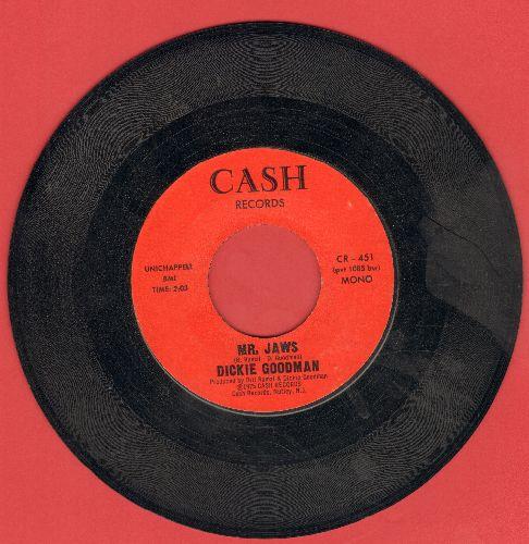 Goodman, Dickie - Mr. Jaws/Irv's Theme RARE large logo pressing!) - NM9/ - 45 rpm Records