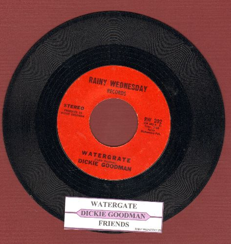Goodman, Dickie - Watergate/Friends (with juke box label) - EX8/ - 45 rpm Records