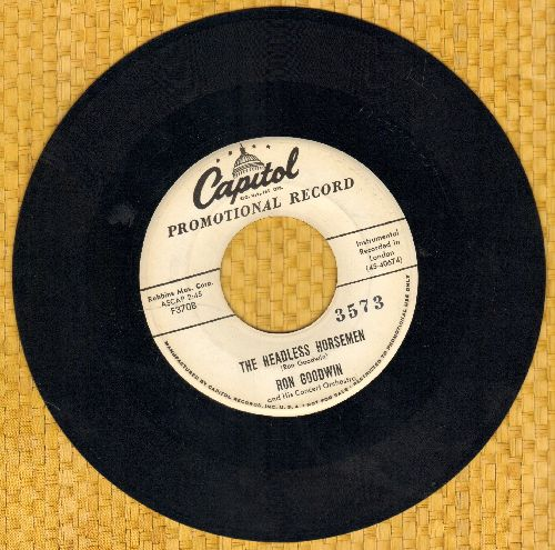 Goodwin, Ron - When I Fall In Love/The Headless Horseman (DJ advance pressing) - EX8/ - 45 rpm Records