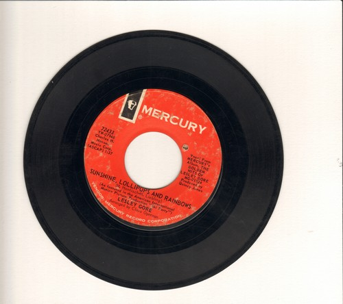 Gore, Lesley - Sunshine, Lollipops And Rainbows/You've Come Back (bb) - VG7/ - 45 rpm Records