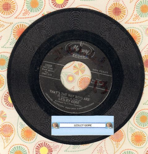 Gore, Lesley - That's The Way Boys Are/That's The Way The Ball Bounces (minor wol) - EX8/ - 45 rpm Records