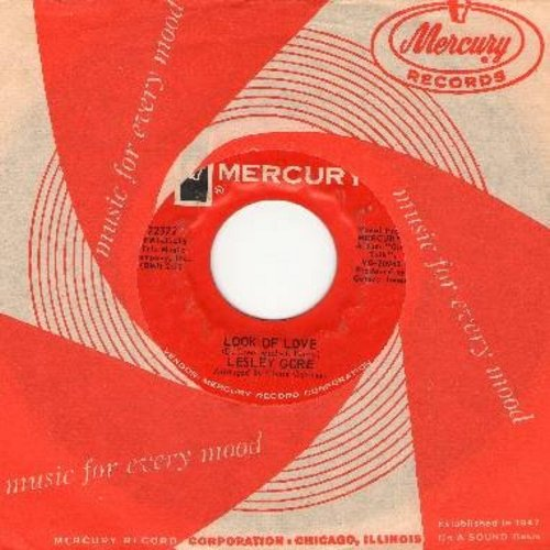 Gore, Lesley - Look Of Love/Little Girl Go Home (with Mercury company sleeve) - EX8/ - 45 rpm Records