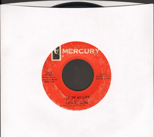 Gore, Lesley - All Of My Life/I Cannot Hope For Anyone - VG7/ - 45 rpm Records