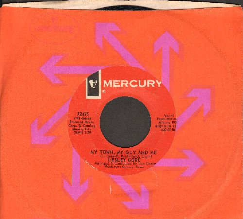 Gore, Lesley - My Town, My Guy And Me/A Girl In Love (with Mercury company sleeve) - EX8/ - 45 rpm Records
