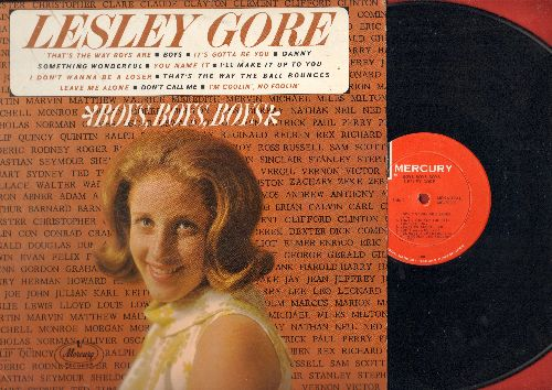 Gore, Lesley - Boys, Boys, Boys: That's The Way Boys Are, I Don't Wanna Be A Loser, Leave Me Alone (Vinyl MONO LP record) - VG7/EX8 - LP Records