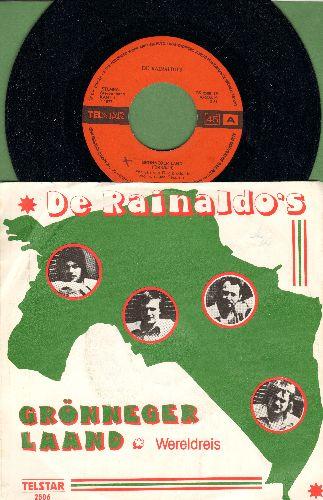 De Rainaldo's - Groenneger Land/Wereldreis (Dutch Pressing with picture sleeve) - NM9/EX8 - 45 rpm Records