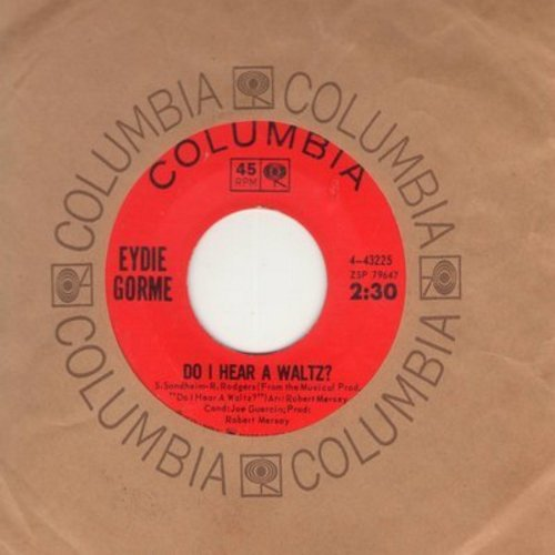 Gorme, Eydie - Do I Hear A Waltz?/After You've Gone (with Columbia company sleeve) - NM9/ - 45 rpm Records