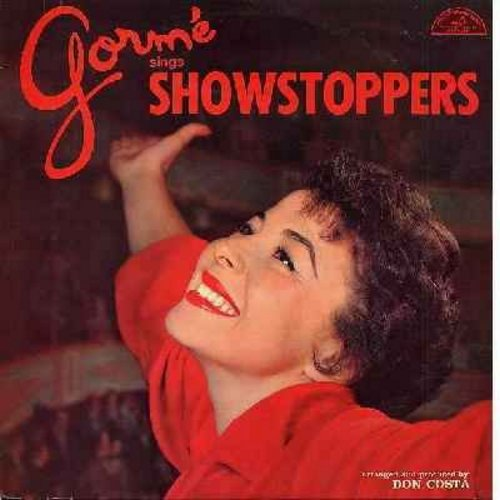 Gorme, Eydie - Gorme Sings Showstoppers: I Don't Care, My Funny Valentine, You Can't Get A Man With A Gun, I Cain't Say No, Johnny One Note, I'm Gonna Wash That Man Right Outa My Hair (Vinyl MONO LP record, 1970s issue) - EX8/EX8 - LP Records