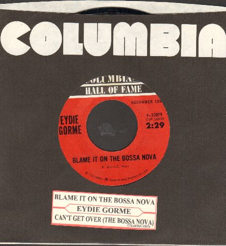 Gorme, Eydie - Blame It On The Bossa Nova/Guess I Should Have Loved Him More (MINT condition) - NM9/ - 45 rpm Records