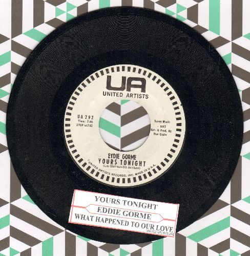 Gorme, Eydie - Yours Tonight/What Happened To Our Love (DJ advance pressing with juke box label) - NM9/ - 45 rpm Records