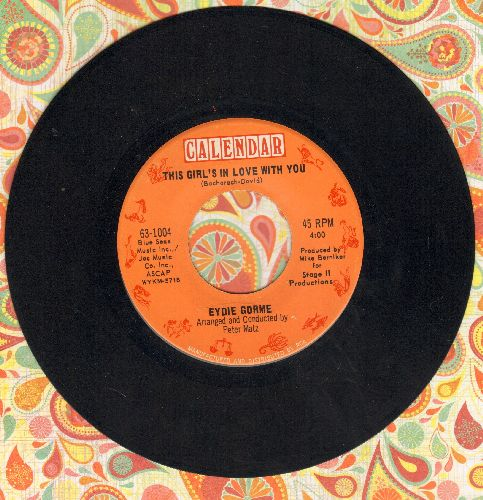 Gorme, Eydie - This Girl's In Love With You/It's You Again - EX8/ - 45 rpm Records