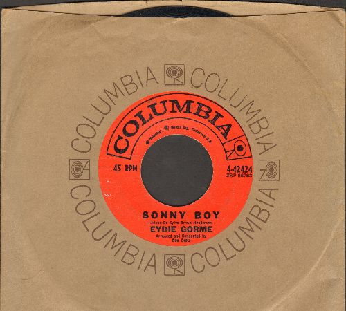 Gorme, Eydie - Sonny Boy/Yes My Darling Daughter (with Columbia company sleeve) - EX8/ - 45 rpm Records