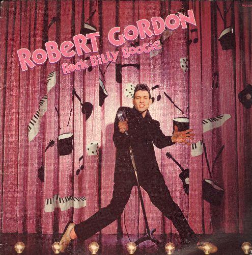 Gordon, Robert - Rock Billy Boogie: Love My Baby, Black Slacks, It's Only Make Believe, Am I Blue, Blue Christmas (Vinyl STEREO LP record) - NM9/EX8 - LP Records