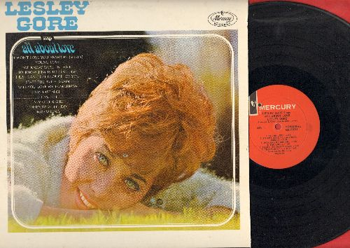 Gore, Lesley - Lesley Gore Sings All About Love: Young Love, To Know Him Is To Love Him, Will You Love Me Tomorrow, Start The Party Again (Vinyl MONO LP record)(bb) - EX8/VG7 - LP Records